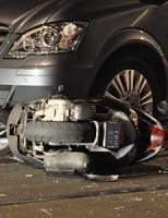 27 september Scooter rijder gewond na aanrijding Paul Krugerlaan Den Haag