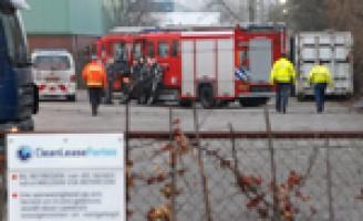 Gewonde bij explosie in wasserij Industrieweg Rotterdam