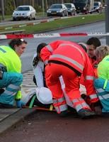 Eenzijdig ongeval Vuurplaat in Rotterdam