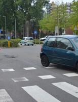 1 juni Veel schade en gewonde na aanrijding Willem Ruyslaan