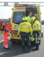 3 september Motorrijder gewond na eenzijdig ongeval