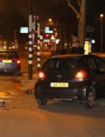 Aanrijding tussen twee voertuigen Holysingel Vlaardingen