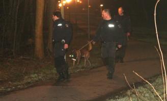 Zoektocht naar inbrekers Kerkpolderpark Delft