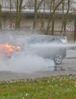 Autobrand Houtsingel Zoetermeer
