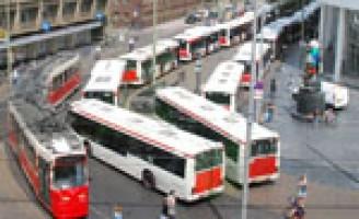 Wilde staking buschauffeurs HTM in Den Haag