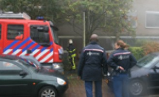 Binnenbrand in woning Hendrik Marsmanlaan Delft
