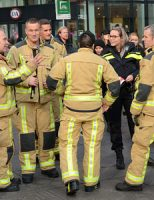 21 februari Middelbrand in schoenenwinkel Grote Marktstraat Den Haag