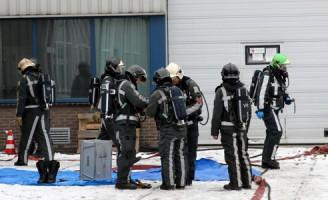 Ontruiming na ongeval met gevaarlijke stof Arent Vinckstraat Schiedam