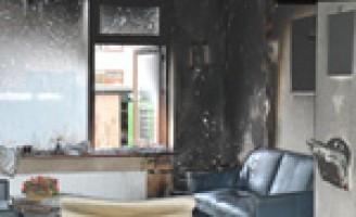 Brand door tv-toestel Curielaan Pijnacker