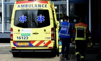 Ongeval met gevaarlijke stoffen Leiden