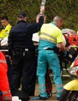 Fietser zwaargewond na aanrijding met tram Koninginnegracht Den Haag