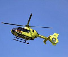 24 mei Hulpdiensten rukken uit voor een medische noodsituatie Hofpoldersingel Gouda