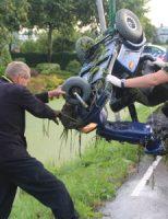 30 juli Man raakt met scootmobiel te water Bermweg Nieuwerkerk aan den IJssel