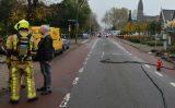 15 november Flink gaslek door graafwerkzaamheden Eerste Stationstraat Zoetermeer