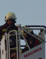 12 februari Brandweer rukt uit voor een schoorsteenbrand Joubertstraat Gouda