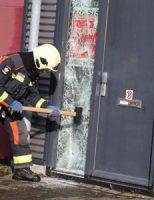 23 mei Brandweer rukt uit voor een flinke wateroverlast in bedrijfspand Jan Tinbergenstraat Reeuwijk
