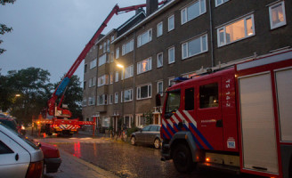 10 september Brand in schoorsteen