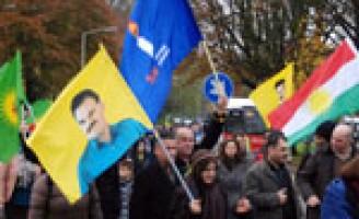 Koerden demonstreren in Den Haag (video update)