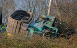 19 januari Vrachtwagen gekanteld A13 Delft; bestuurder overleden [VIDEO]