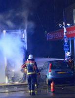 22 februari Reclamebord in brand bij een tankstation Dorpstraat Waddinxveen
