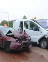 11 juni Gewond bij ongeval Leimuiden