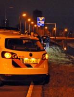 Bestelbus raak te water Europaweg N206 Leiden