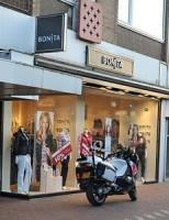 Poging overval op kledingwinkel Vijf Meiplein Leiden