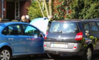 Aanrijding na inhaalmanoeuvre Doorniksestraat Den Haag