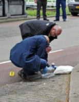 Man op straat berooft Ter Haarkade Leiden