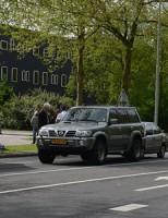 Politie neemt voertuig in beslag na kop-staart aanrijding