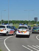 Kop-staart aanrijding Europaweg N206 Leiden