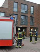 Keukenbrand aan de Oostbosch Voorschoten