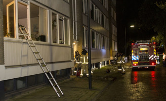 15 april Brand in portiekflat Vlaardingen