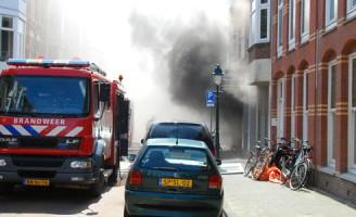 Grote brand in kringloopbedrijf Fahrenheitstraat Den Haag
