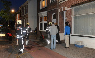 14 juni Brand in appartement Lisse