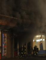 29 maart Boekhandel Haasbeek verwoest door brand Alphen Aan Den Rijn