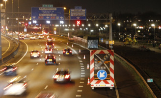 29 maart Traumahelikopter defect langs de weg Rotterdam