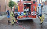 11 augustus Middelbrand bij autogarage door pomp van aquarium Jan Wapstraat Den Haag