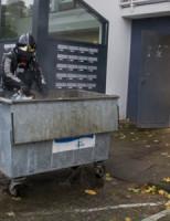 14 oktober  Brand in containerruimte van flat
