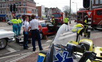 Aanrijding Valkenbosplein Den Haag