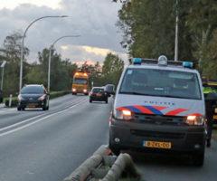 18 oktober Eèn gewonde bij kop-staart aanrijding Provincialeweg West Haastrecht