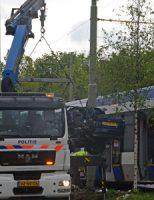 28 april Twee gewonden bij flinke aanrijding met tram Waldeck Pyrmontkade Den Haag