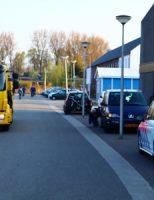 4 april Schade na aanrijding tussen drie voertuigen Goudse Houtsingel Gouda