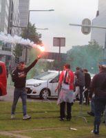 7 mei Chaos na verloren kampioenswedstrijd Rotterdam
