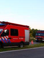 19 juni Brandweer rukt uit voor hooibroei Reeuwijksehoutwal Reeuwijk