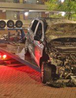 2 september Personenauto in brand op parkeerplaats Olympiadeplein Gouda