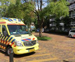12 augustus Mobiel Medische Team ingezet voor medische noodsituatie de La Reyweg Gouda
