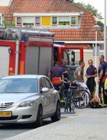 29 augustus Brandweer rukt uit voor mogelijk gaslucht Walvisstraat Gouda
