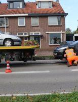 20 september Flinke schade bij aanrijding Bodegraafsestraatweg Gouda
