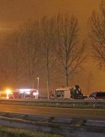 4 november Man komt om het leven bij verkeersongeval A20 Moordrecht